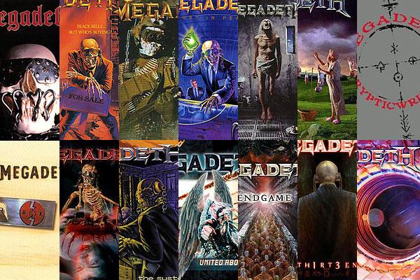 Megadeth Studio Album Discography [Infographic]