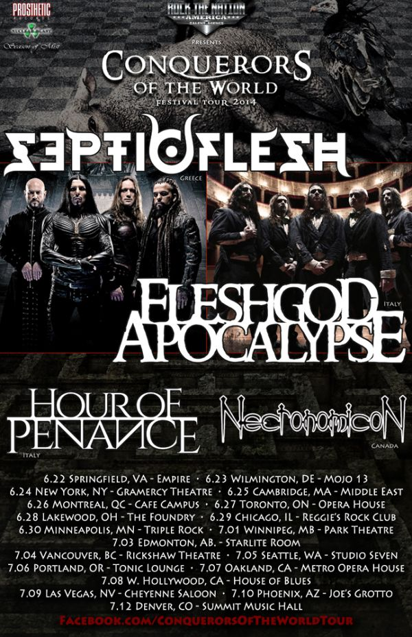Septicflesh Tour